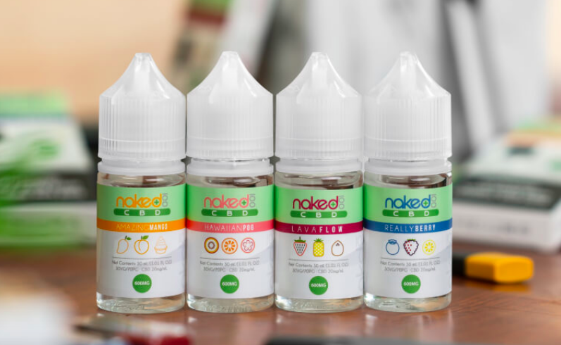 Naked 100 CBD E-liquid